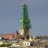 All Saints Church Ryde Isle of Wight Scaffolding Highways Scaffolding Permit